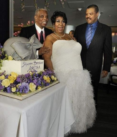 ARETHA FRANKLIN BIRTHDAY CAKE