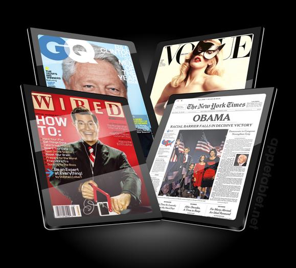 Ipad-magazines