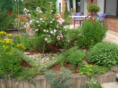 herb garden design ideas. Decorative herb garden Herb Garden
