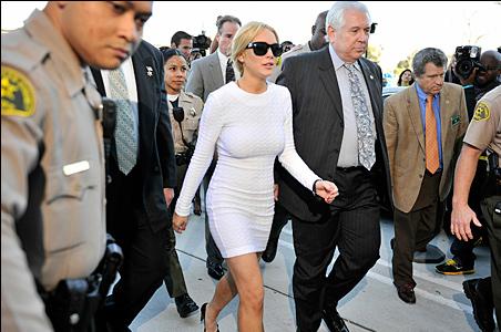 lindsay lohan white dress court. Lindsay Lohan#39;s White Dress