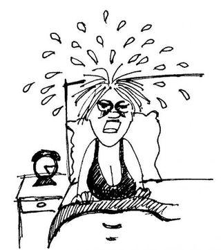 Sweating_woman