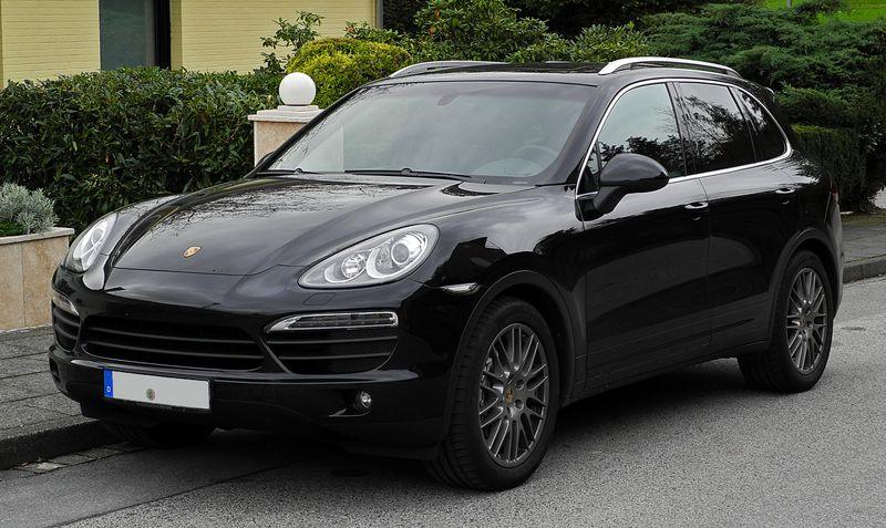 Porschecayenneblack