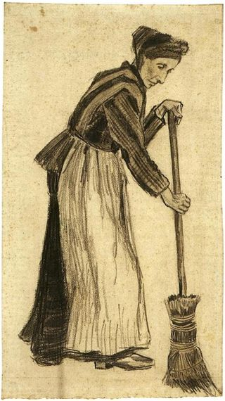 Woman-with-a-Broom
