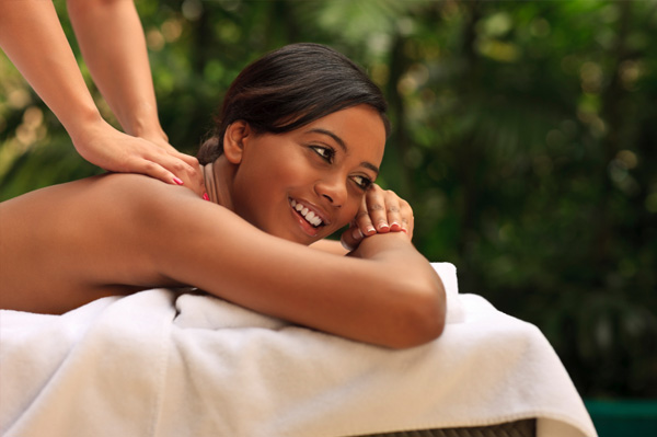 Woman-on-solo-spa-vacation