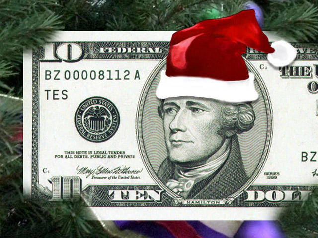 Christmas-money