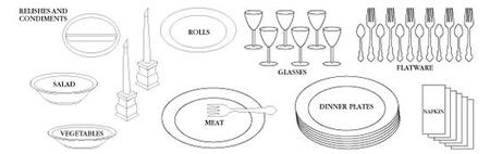 Buffet_1  sc 1 st  Rantings of a Creole Princess - Typepad & Table Settings